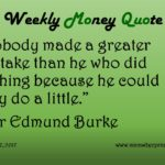 1-17-17_Biggest Mistake We Can Make_Sir Edmund Burke