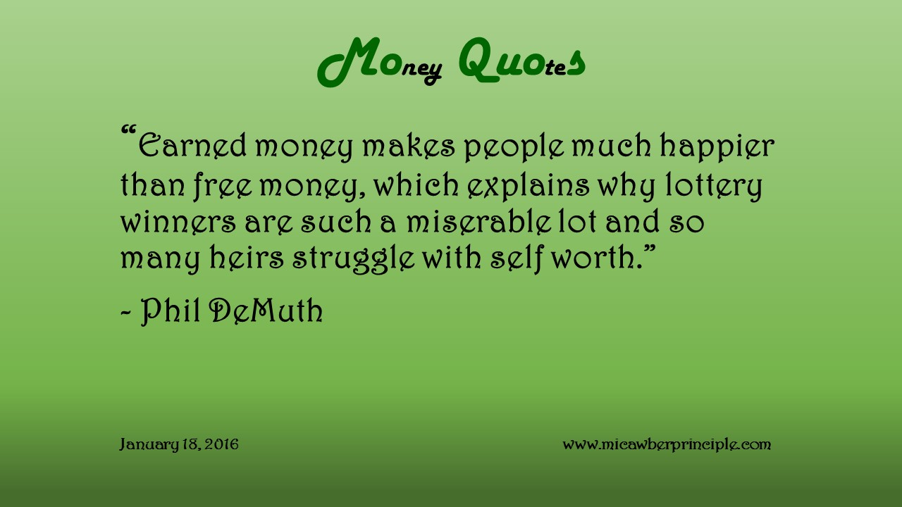 Quotes January Weekly Money Quote January 18 2016