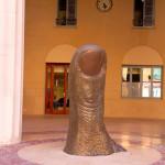 Giving the Finger - Hotel de Ville - Nice