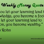 5-15-17_Knowledge or Action - Jim Rohn