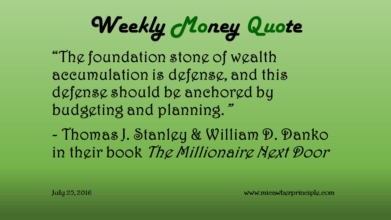 7-25-16_Money Quotes_Stanley & Danko_Budgeting