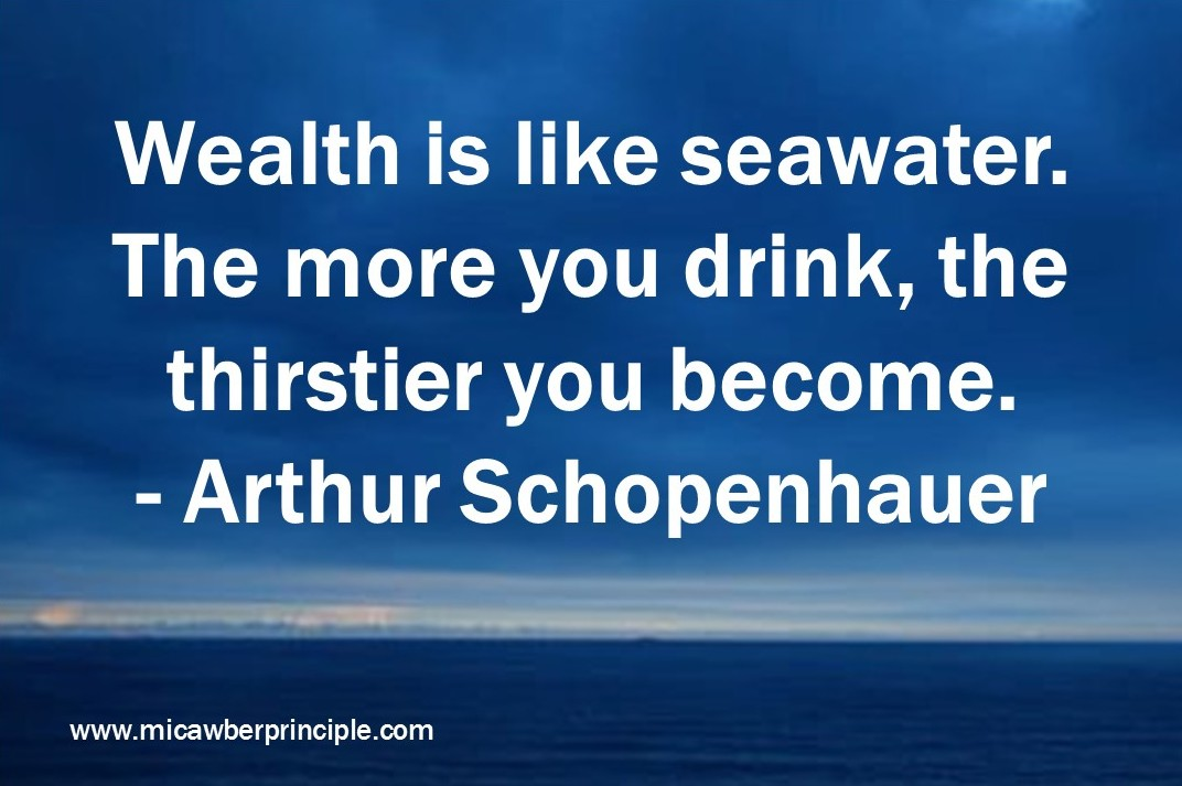 8-29-16_Wealth is Like Seawater_Arthur Schopenhauer