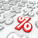 Percent Symbols - Best Percentage Growth or Interest Rate